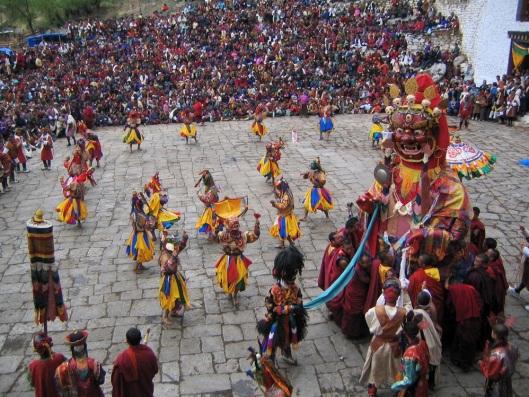 Paro Tsechu Festival Bhutan