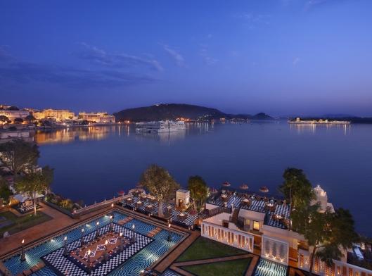 Leela Palace Udaipur Sheesh Mahal Restaurant