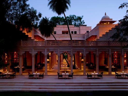 AmanBagh Terrace Dining 1