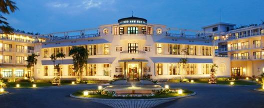 La Residence, Hue, Vietnam at night