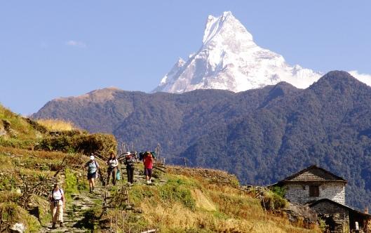 NEPAL - Annapurnas trekking 2